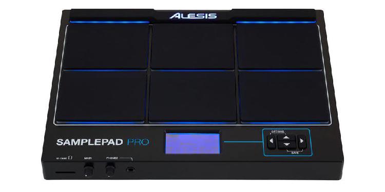 Alesis samplepad pro percusión caja de ritmos