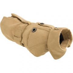 Abrigo para perros sherlock color beige