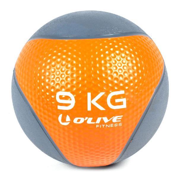 Balón medicinal o'live 9 kg naranja