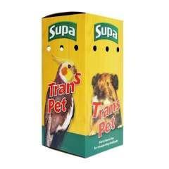 Caja transportadora para animales pequeños o pájaros color