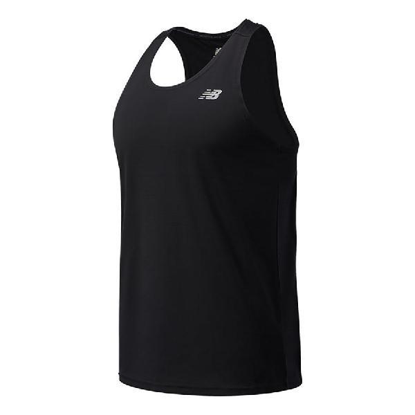 Camiseta new balance accelerate sin mangas negro