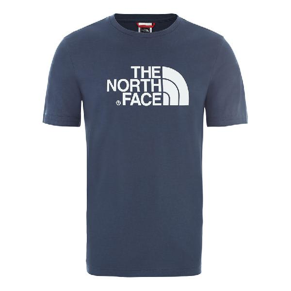 Camiseta the north face easy manga corta azul marino oscuro