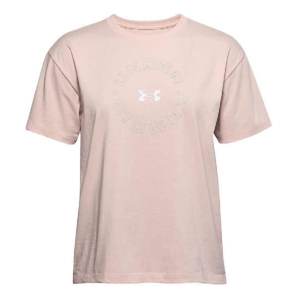 Camiseta Under Armour Live Fashion Graphic manga corta rosa