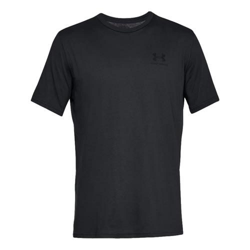 Camiseta Under Armour Sportsyle Left Chest manga corta negro