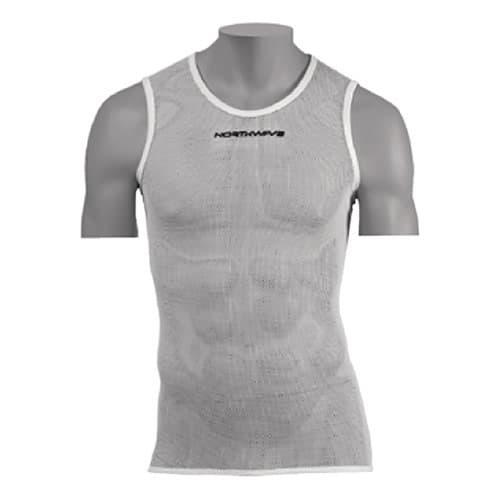 Camiseta interior northwave light sin mangas blanco