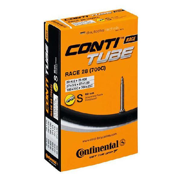 Cámara continental 700x20-25 válvula presta 60 mm