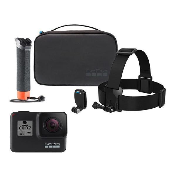 Cámara de acción GoPro Hero7 Black negro + Adventure kit