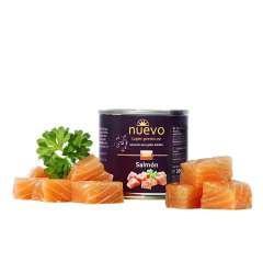Comida húmeda nuevo adulto para gatos sabor salmón