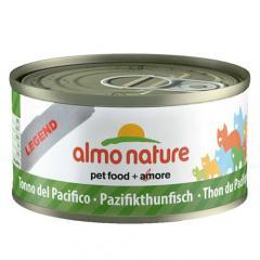 Comida húmeda de atún del pacífico almo nature legend