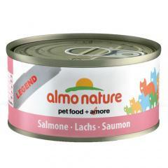 Comida húmeda de salmón almo nature legend