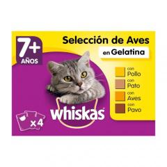 Comida húmeda para gatos senior Whiskas multipack
