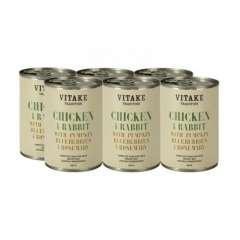 Comida húmeda perros Vitake Tradition pollo y conejo