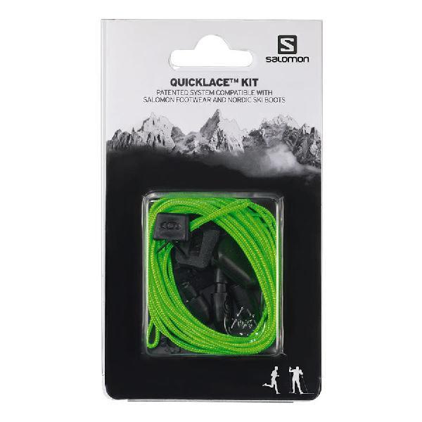 Cordones salomon quicklace kit verde