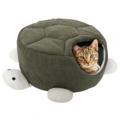 Cueva para mascotas con forma de tortuga