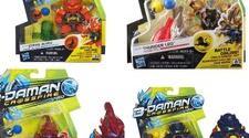 Figuras B-Daman de acción de Hasbro