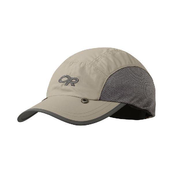 Gorra outdoor research swift cap sun runner marrón khaki