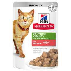 Hill's youthful vitality 7 húmedo para gatos con