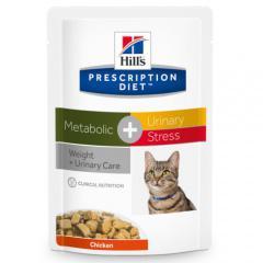 Hill´s prescription diet metabolic plus urinary stress