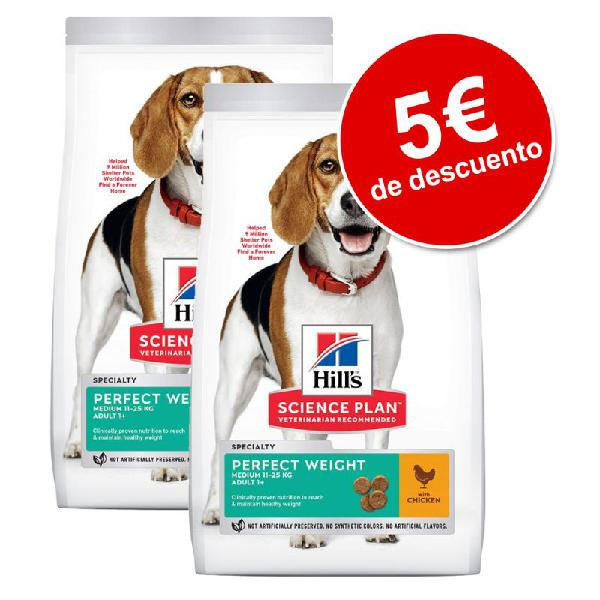 Hill's Science Plan 2 x 2 / 2,5 / 3 kg pienso para perros
