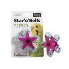 Juguete para pájaros modelo Star 'O' Bells color