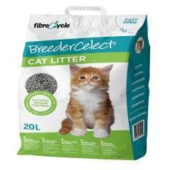 Lecho de papel reciclado breedercelect para gatos olor