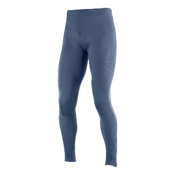 Malla larga salomon agile long tight azul oscuro