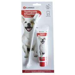 Pasta dental cepillo para perros