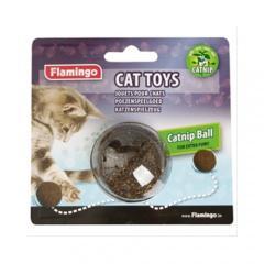 Pelota de catnip para gatos