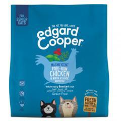 Pienso edgard & cooper senior pollo y pescado para gatos