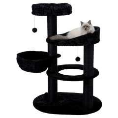 Poste rascador para gatos filippo color negro