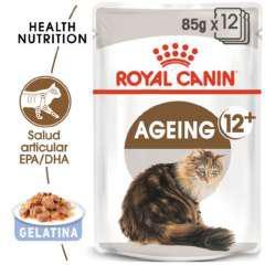Royal canin ageing 12+ comida húmeda para gato sénior en