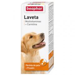 Vitaminas laveta carnitina beaphar perros