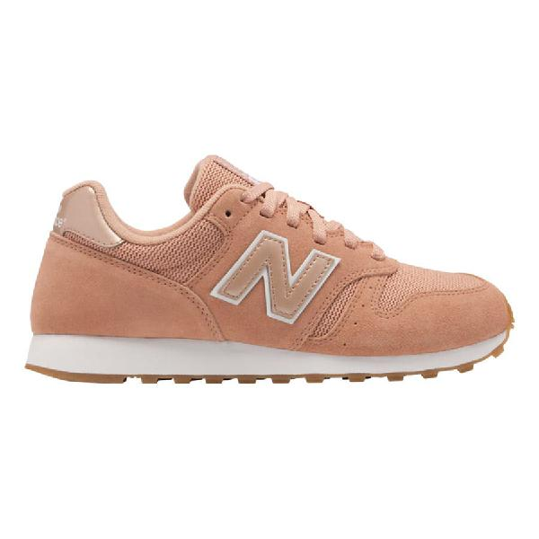 Zapatillas New Balance 373 rosa anaranjado blanco mujer
