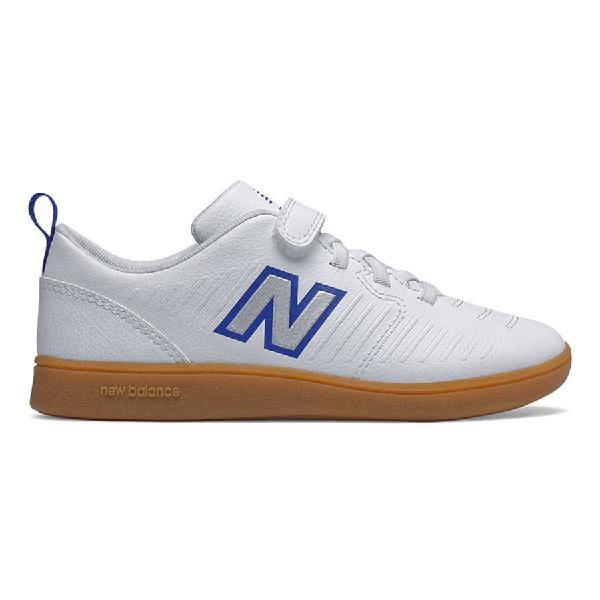 Zapatillas new balance audazo v5 velcro blanco gris azul