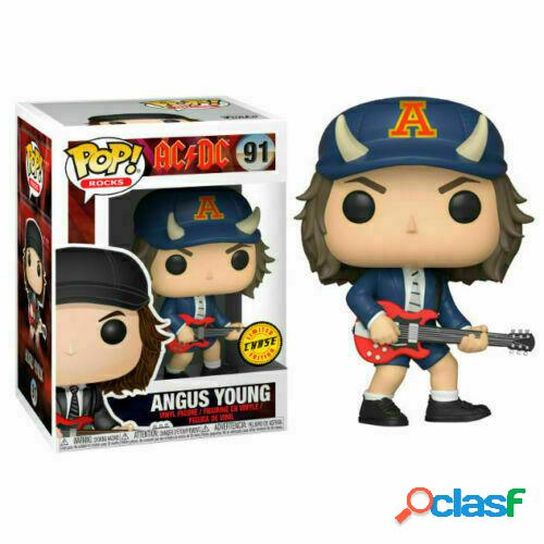 Figura Funko Pop Angus Young AC DC Chase