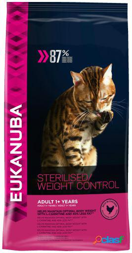 Eukanuba pienso adult light sterilised 10 kg