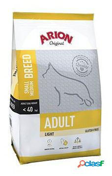 Arion pienso para perros original adult small medium light 3 kg