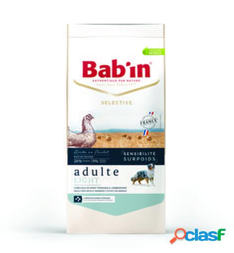 Bab'in pienso para perros sensitive adult light 12 kg