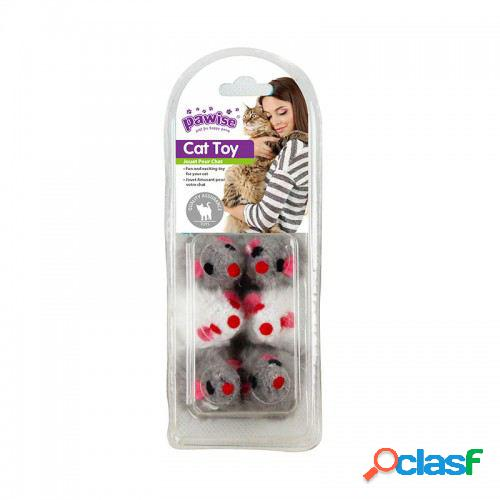 Pawise pack 6 raton peluche 42 gr