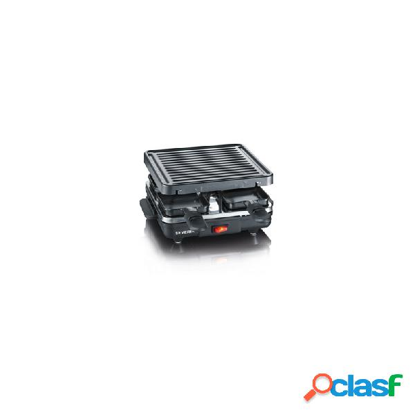 Raclette grill severin 600w 4 personas
