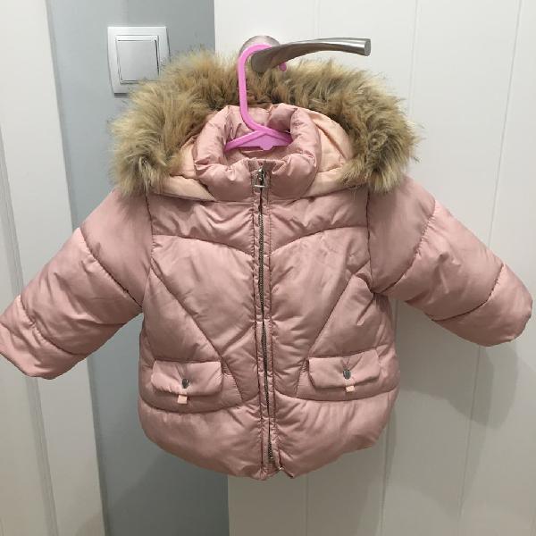 Abrigo rosa zara