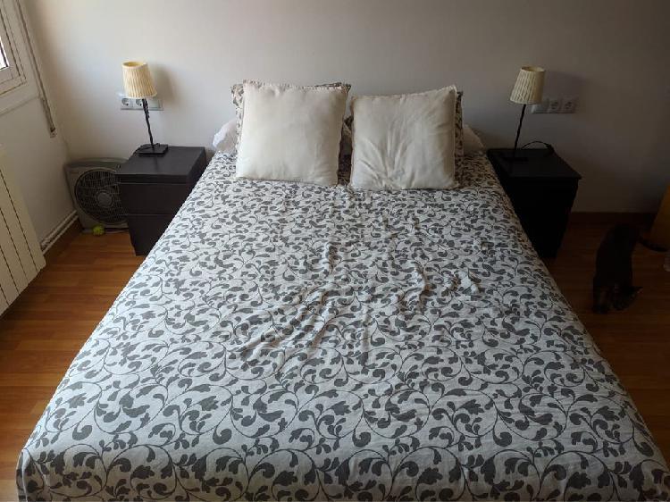 Base cama somier y colchón 140x200 ikea