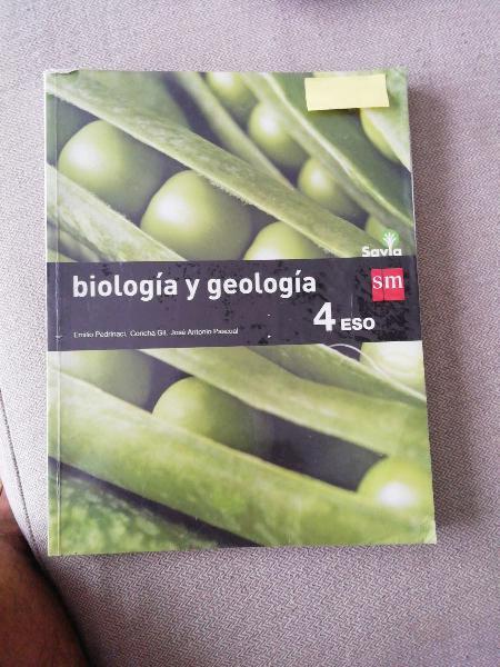 Biología y geología 4°eso