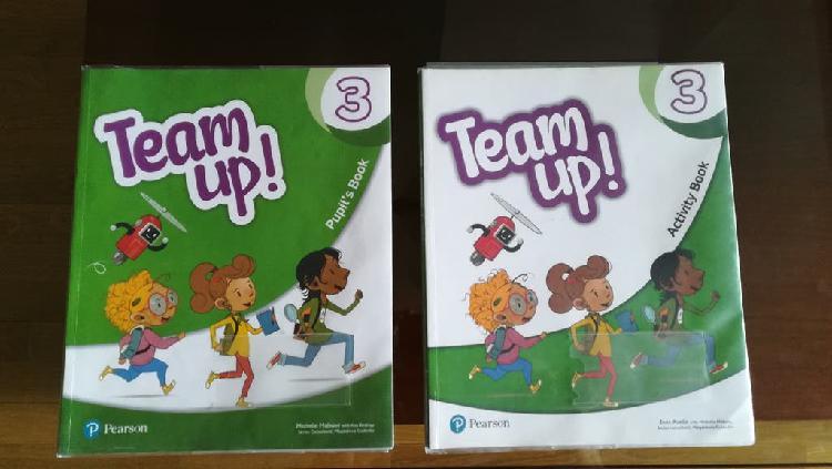 Isbn 9788498379235 team up! 3 pupil book pack