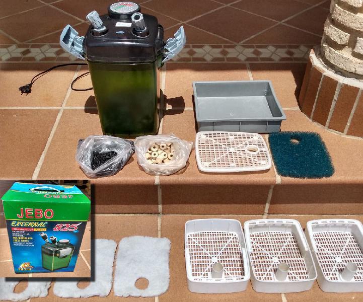 Kit completo acuario 60l led bio pecera