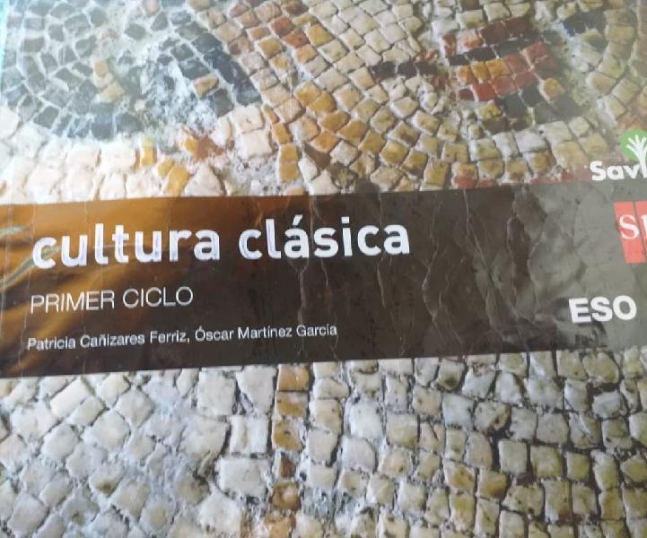 Libro cultura clásica 2º eso
