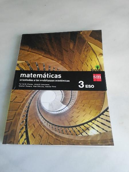Matemáticas sm 3 eso