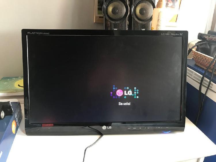 """Monitor tv hd 20"""" + soporte"""