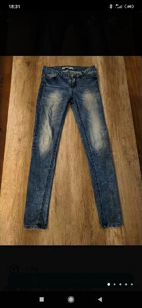 Pantalon tejano jeans chica t.36
