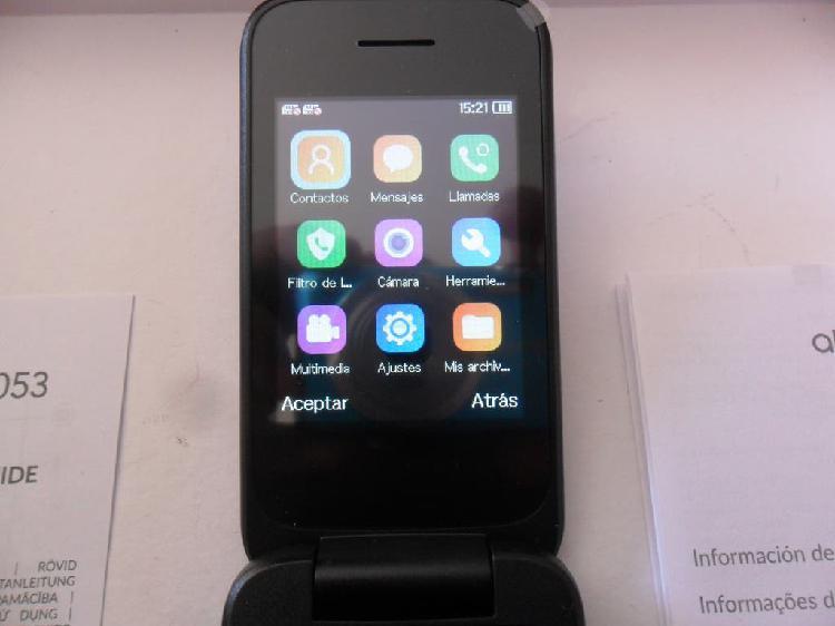 Teléfono alcatel libre nuevo en caja fácil uso